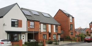 PVCu windows for housing development