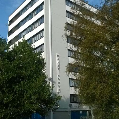 PVCu windows supplied for tower block project