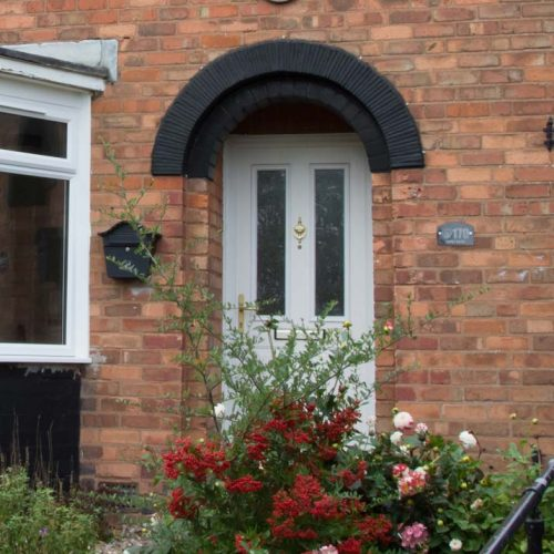 Door refurbishment for council homes