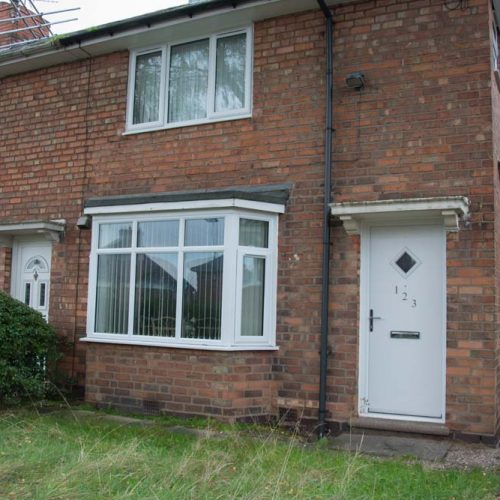 Double glazed upvc windows upgrade for council home