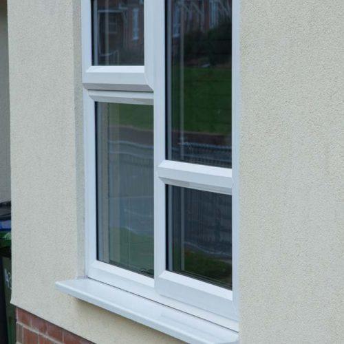 PVCu Casement window