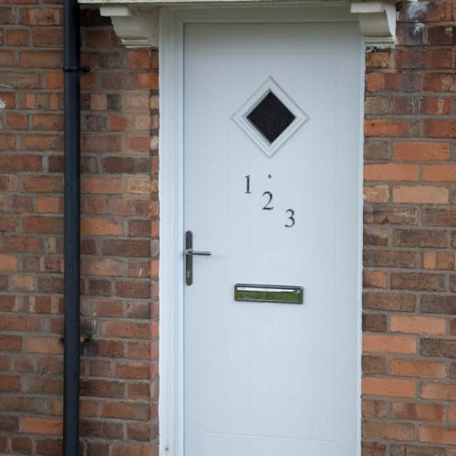 Composite door supplied for Birmingham City Council