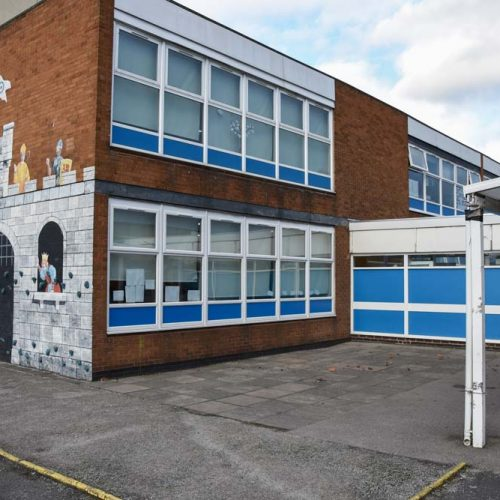 Secure windows and doors for Chivenor Primary School