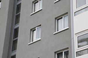 Social housing highrise UPVC casements