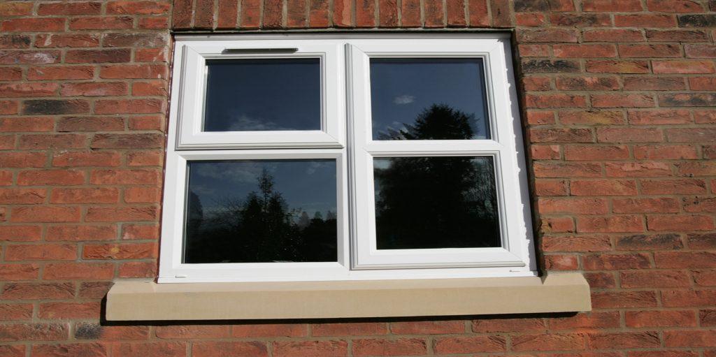 uPVC casement window features