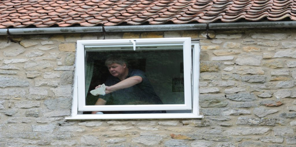 low maintenance uPVC reversible windows