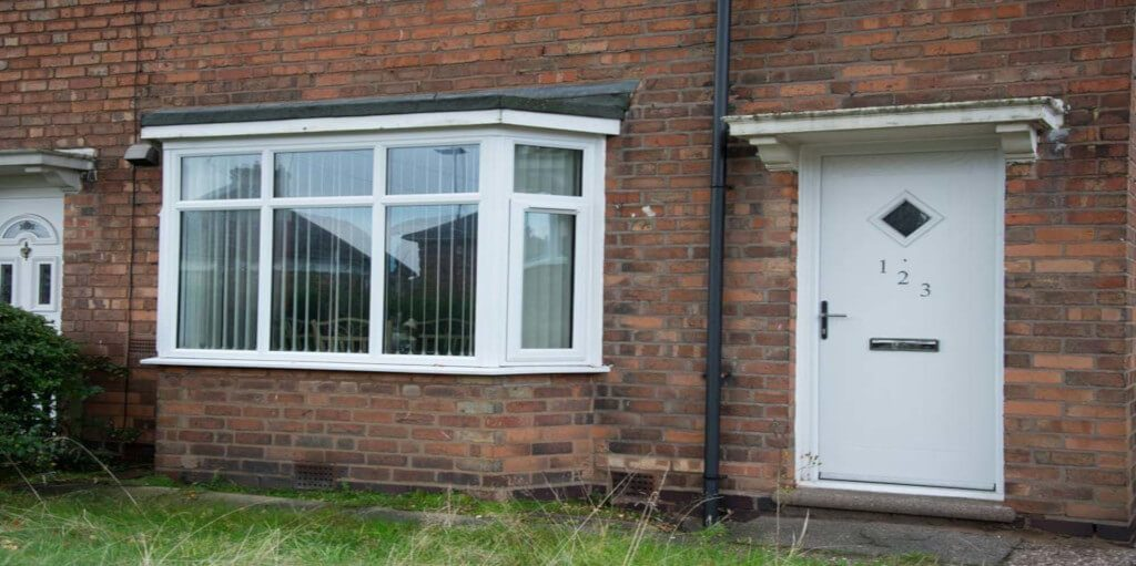uPVC casement windows project