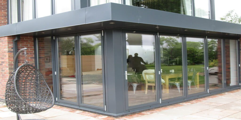 Kestrel aluminium bifold door colours & styles