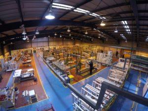 Shelforce Factory Interior