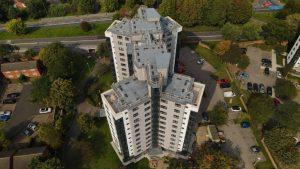 New Birmingham tower blocks